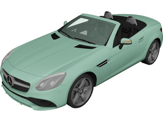 Mercedes-Benz SLC 300 3D Model