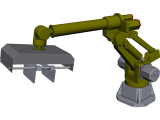 Fanuc S420F CAD 3D Model