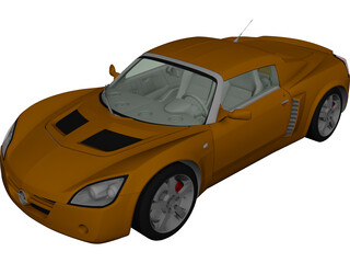 Opel Speedster Turbo (2004) 3D Model