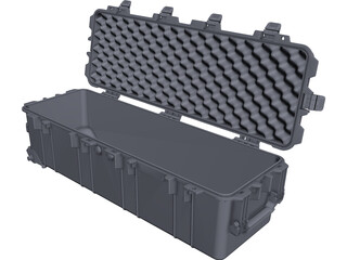 Pelican Case CAD 3D Model