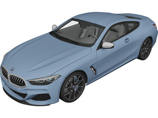 BMW 8-Series M850i Coupe [G15] (2019) 3D Model