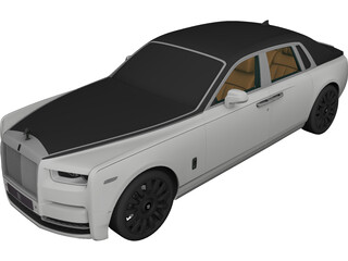 Rolls-Royce Phantom (2018) 3D Model