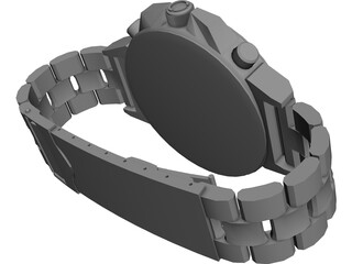 Expander Watch 3D Model 3D Preview