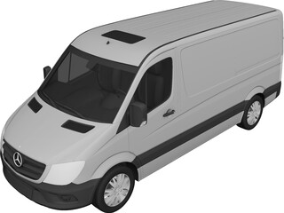 Mercedes-Benz Sprinter (2013) 3D Model