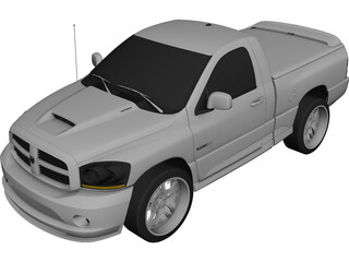Dodge Ram 1500 SRT10 [Tuned] (2013) 3D Model