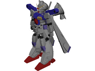 RX-78GP01-Fb Gundam Zephyranthes 3D Model