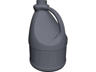 Bleach Bottle CAD 3D Model