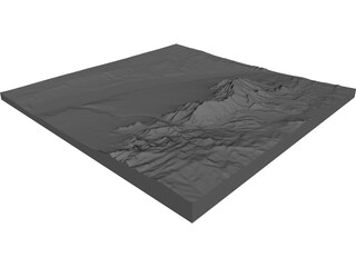Albuquerque Topology 3D Model