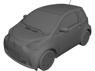Toyota iQ EV (2012) 3D Model
