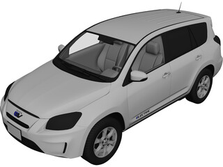Toyota RAV4 EV (2014) 3D Model