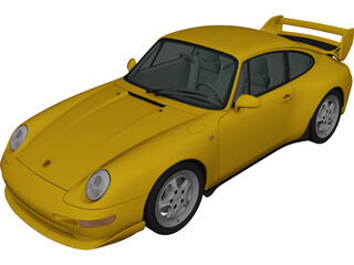 Porsche 911 Carrera RS (1995) 3D Model