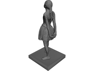 Dancer Woman 3D Model