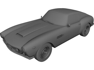 Ferrari 250 GT Berlinetta Passo Corto (1959) 3D Model 3D Preview