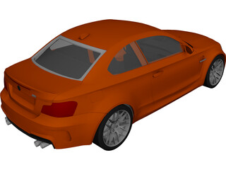 BMW 1M Coupe 3D Model