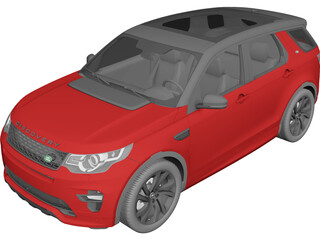 Land Rover Discovery Sport (2016) 3D Model