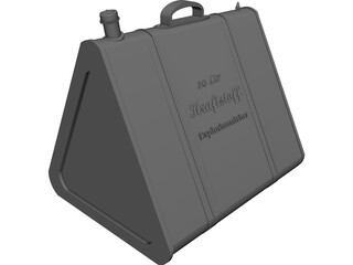 Jerry Can (1939) 3D Model