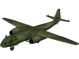 Arado Ar 234 Blitz (1945) 3D Model