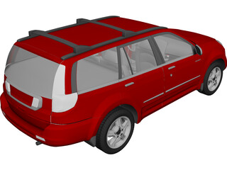 Great Wall Hover H2 (2009) 3D Model