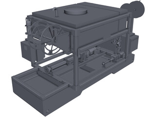UG Pumping Unit CAD 3D Model