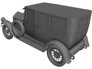 Pierce-Arrow Model 7 (1920) 3D Model