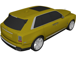 Rolls-Royce Cullinan (2019) 3D Model 3D Preview