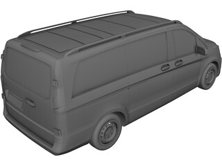 Mercedes-Benz Vito (2016) 3D Model