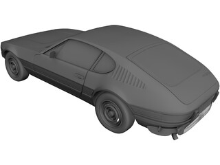 Volkswagen SP2 (1975) 3D Model