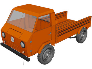 Volkswagen DMG Trakbayan 3D Model 3D Preview