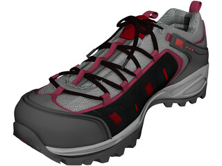 Hiking Boot 3D Model 3D Preview