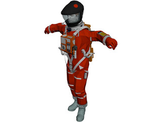 Astronaut 3D Model 3D Preview