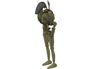 Droid [Star Wars] 3D Model