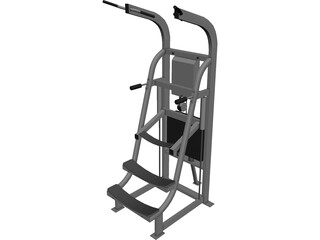 CD2700 Simulator GYM 3D Model