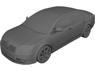 Toyota Avensis (2006) 3D Model
