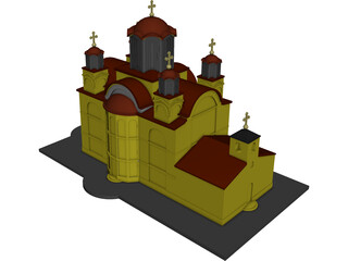 Ravanica Church 3D Model
