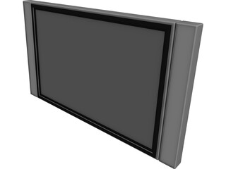 TV Plasma 30inch Polegadas 3D Model