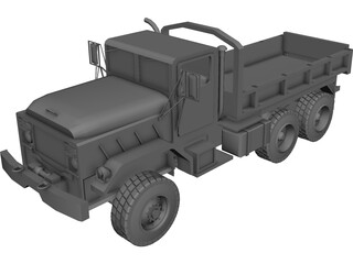 Military Transport Truck 3D Model 3D Preview