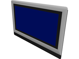 Philips Plasma TV 3D Model