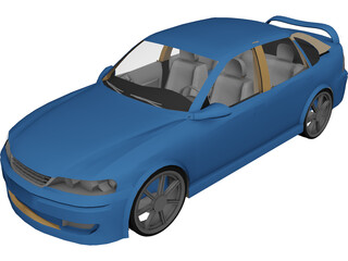 Vauxhall Vectra [Tuned] (1999) 3D Model
