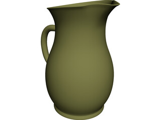 Water Pitcher 3D Model
