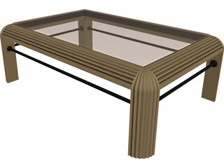 Table Rectangular 3D Model