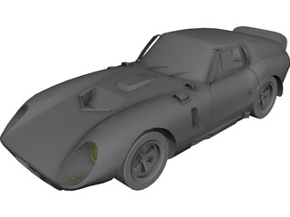 Cobra Schelby Daytona 3D Model