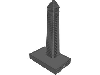 Foshay Tower, Minneapolis 3D Model