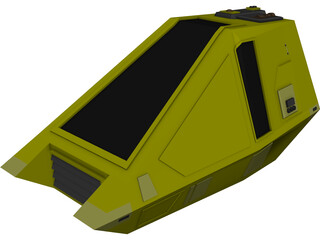 Star Trek Workbee 3D Model