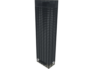 Seagram Tower 3D Model