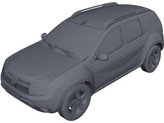 Renault (Dacia) Duster D-Cross CAD 3D Model