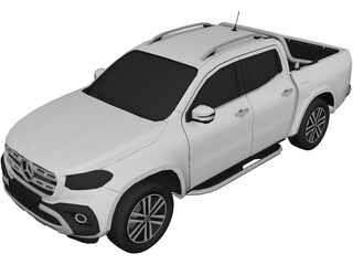 Mercedes-Benz X-class (2018) 3D Model