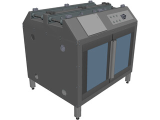 Assembly Station CAD 3D Model