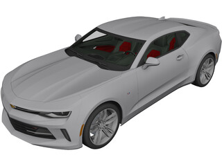 Chevrolet Camaro RS (2016) 3D Model