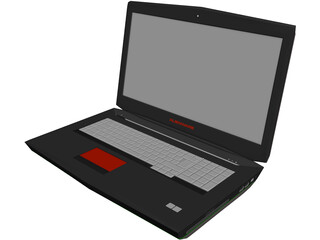 Alienware Laptop 3D Model