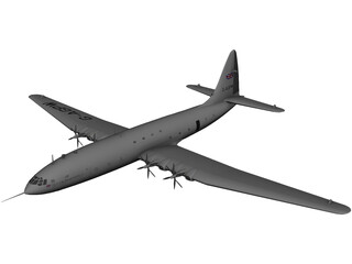 Bristol Brabazon 3D Model